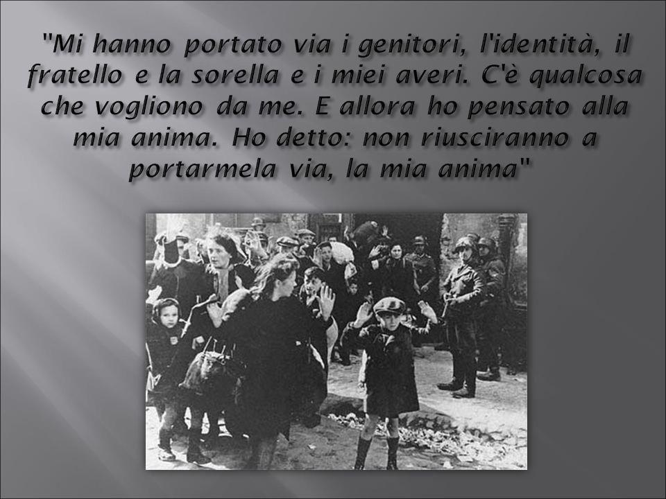 Lettera scritta in yiddish da un ragazzo di 14 anni nel campo di concentramento di Pustkow.