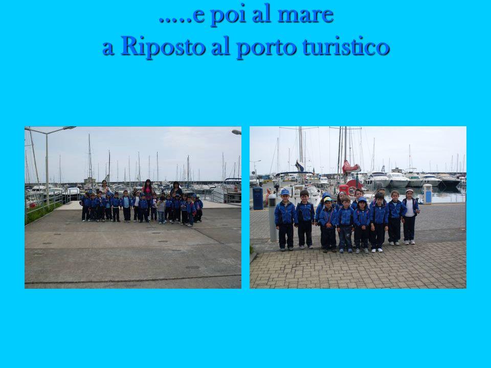 …..e poi al mare a Riposto al porto turistico