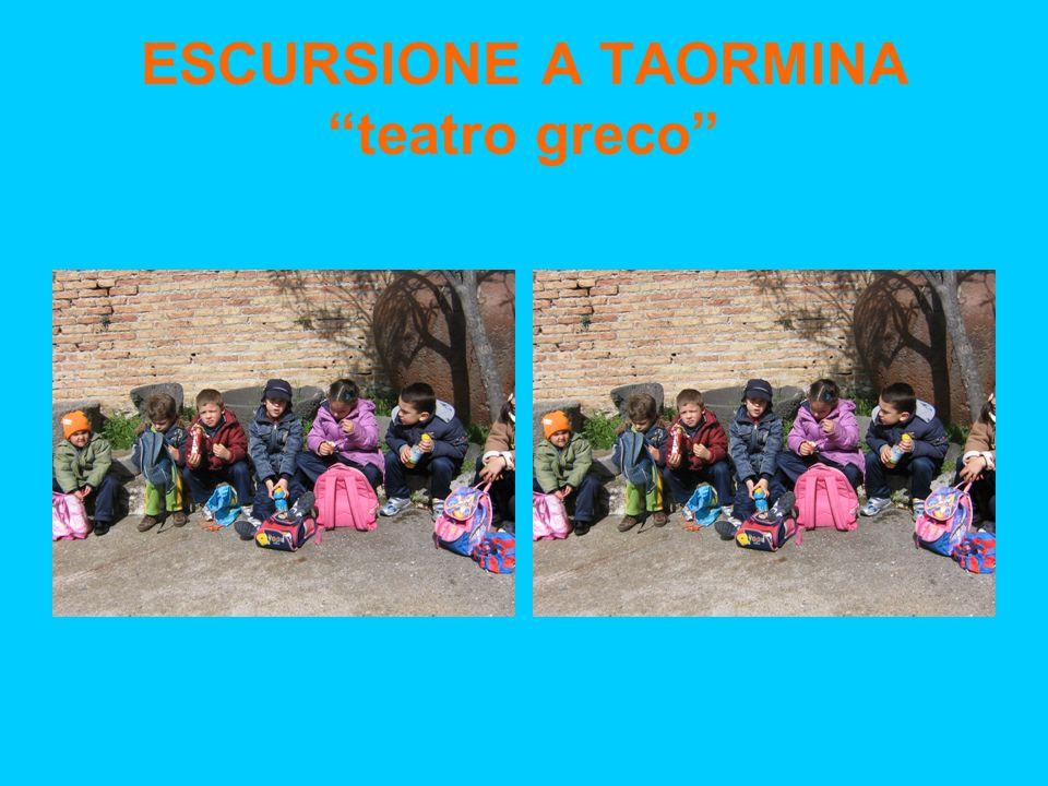 ESCURSIONE A TAORMINA teatro greco