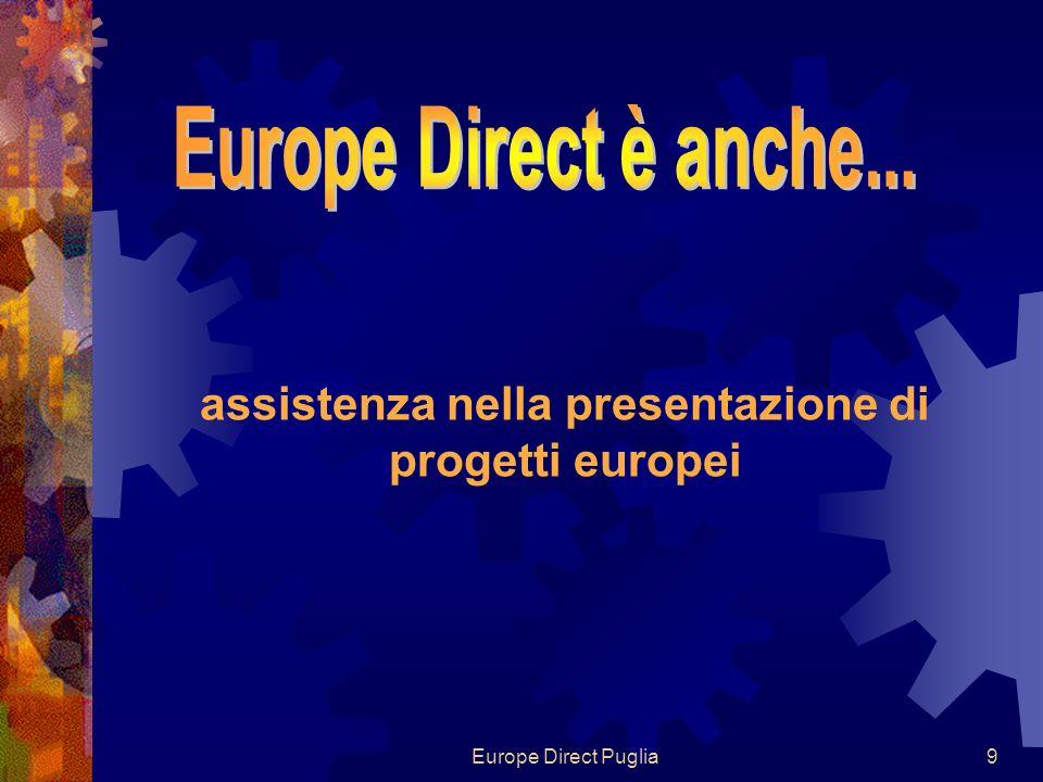 Europe Direct Puglia9 assistenza nella presentazione di progetti europei