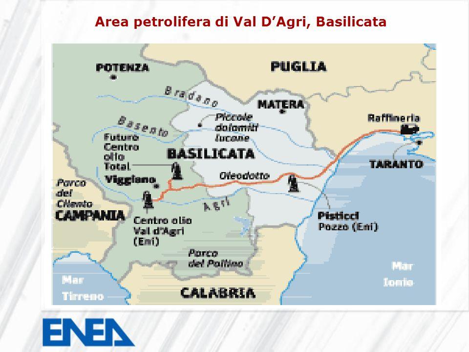 Area petrolifera di Val DAgri, Basilicata