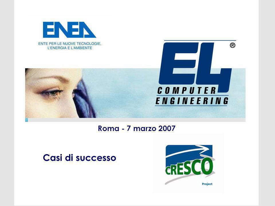 Roma - 7 marzo 2007 Casi di successo