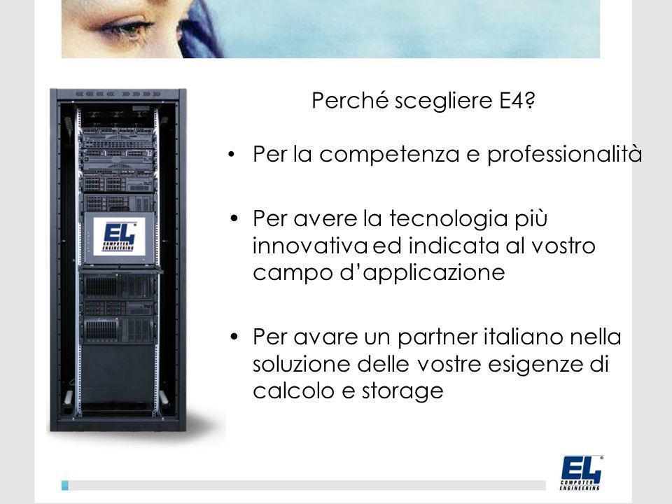 Perché scegliere E4.