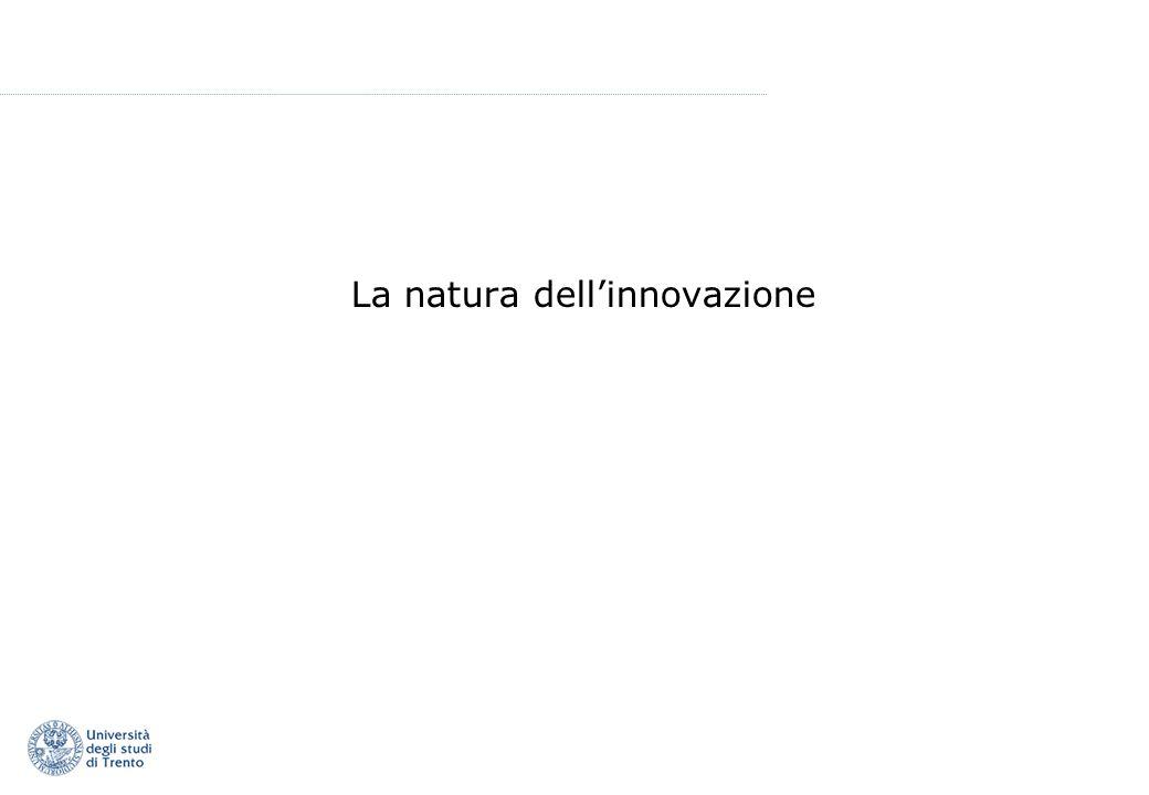 La natura dellinnovazione