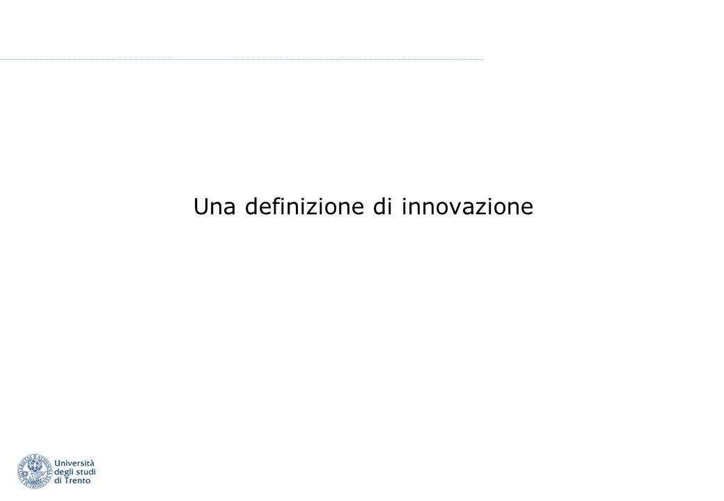 Una definizione di innovazione