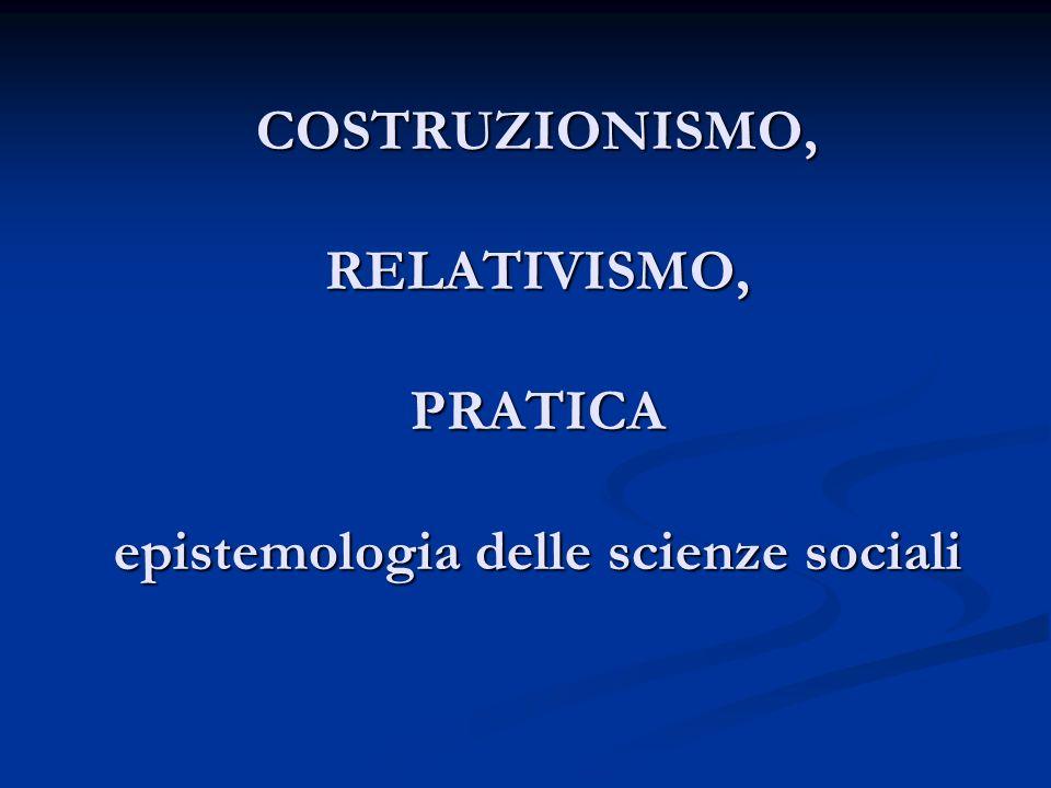Tesi 1 La realtà sociale è prodotta dalle azioni degli individui La realtà sociale è prodotta dalle azioni degli individui Il risultato della scienza è un prodotto sociale Il risultato della scienza è un prodotto sociale