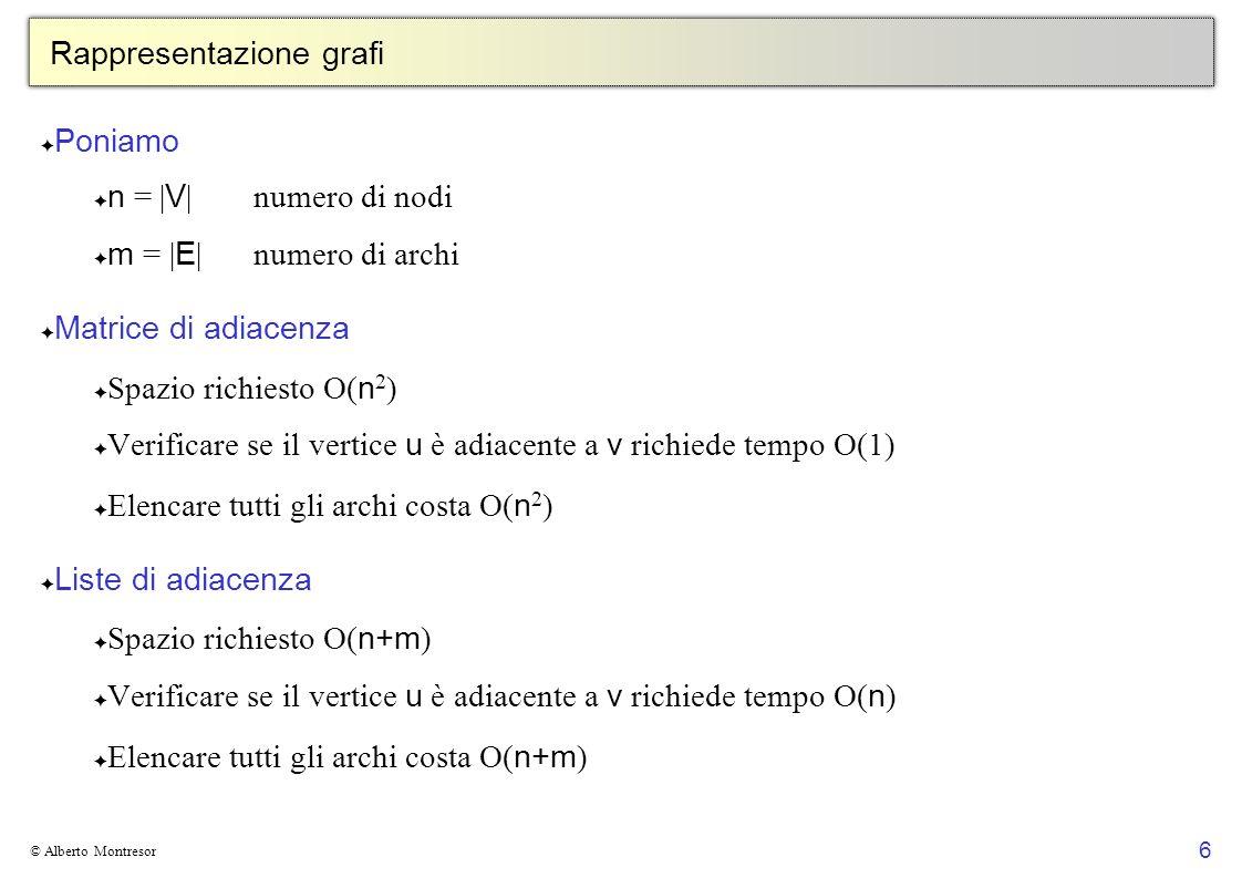 67 © Alberto Montresor Esempio [1, 18] ABCEG F H ID [4,15] [2, 17] [3, 16] [6, 7] [5,14 ] [8, 13] [9, 12] [10, 11] L M [19, 22] [20, 21]