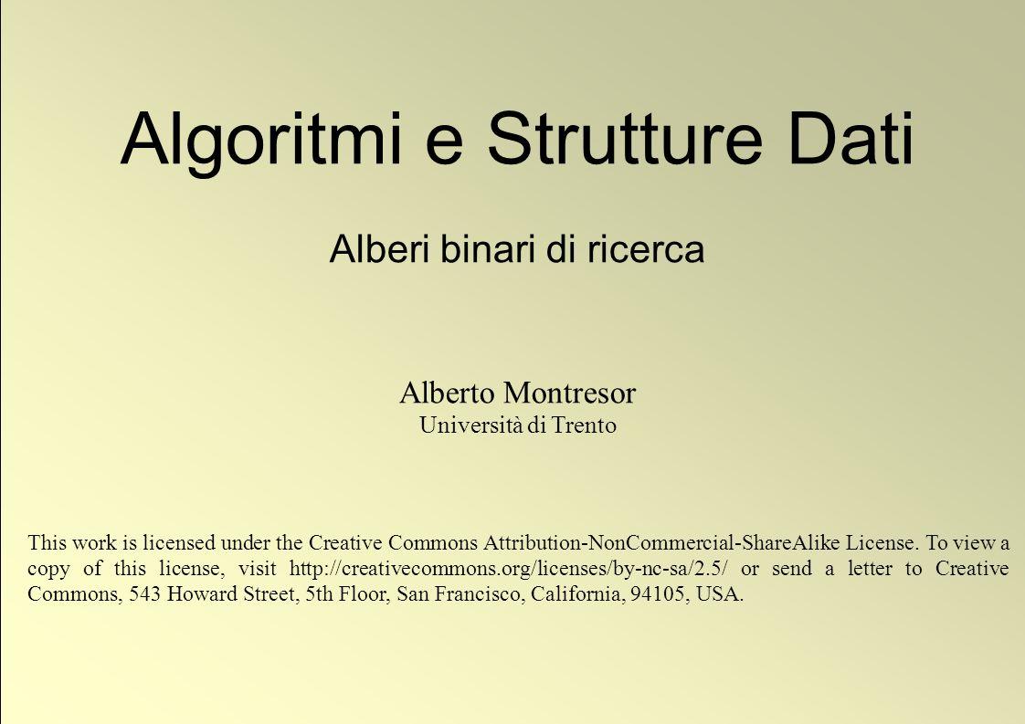 22 © Alberto Montresor Cancellazione: Pseudo-codice