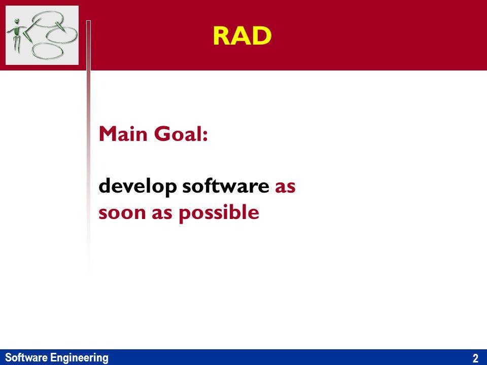 Software Engineering Il progetto: le fasi Requirements definition disegnare il nuovo modello funzionale del dominio e i processi operativi che lo supportano definire i macro requisiti funzionali e non del nuovo sistema individuare le integrazioni necessarie stabilire vincoli e condizionamenti.