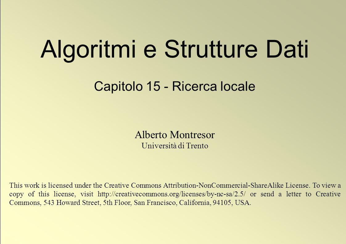 12 © Alberto Montresor Definizioni Capacità residua La capacità residua di un flusso f in una rete G = (V, E, s, p, c) è una funzione r :V ×V R + {0} tale che r(u,v) = c(u,v)f(u,v).