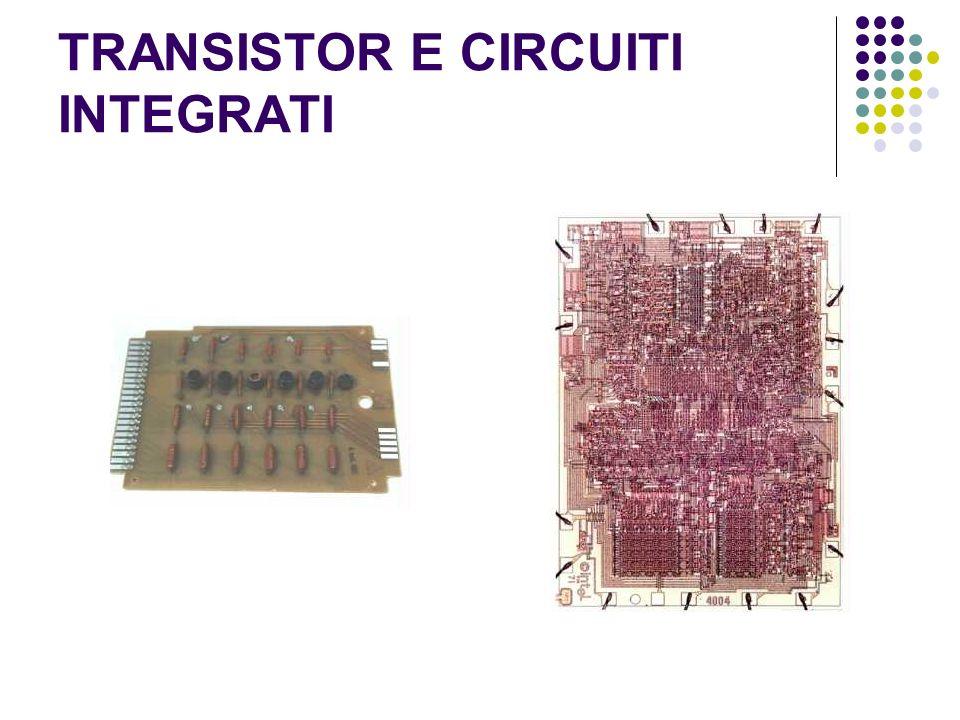 TRANSISTOR E CIRCUITI INTEGRATI