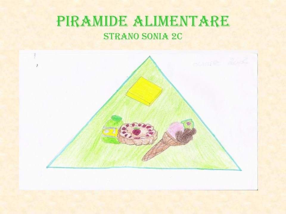 PIRAMIDE ALIMENTARE Strano Sonia 2C