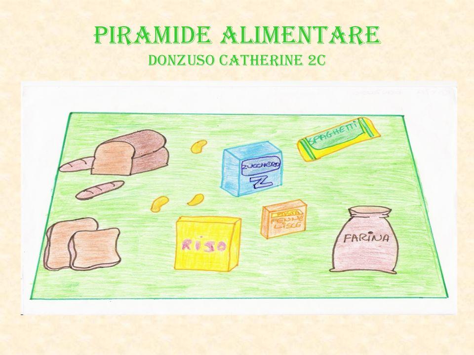 PIRAMIDE ALIMENTARE Donzuso Catherine 2C