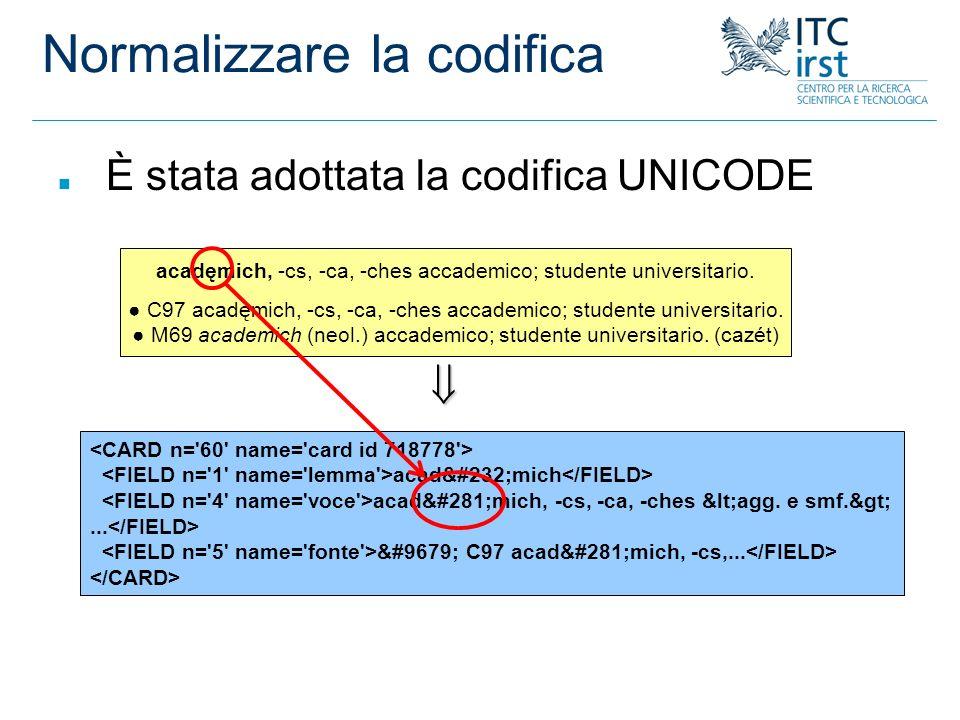 Tool-Box e CLEF (2) n Si parte da un topic n Si cercano keywords o keyphrases associate n Utilizzando le concordanze si cercano risposte a possibili domande n In valutazione si usa il tool-box per verificare le risposte