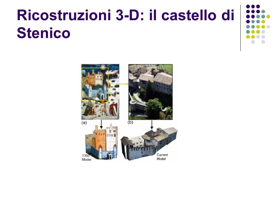 Ricostruzioni 3-D: il castello di Stenico