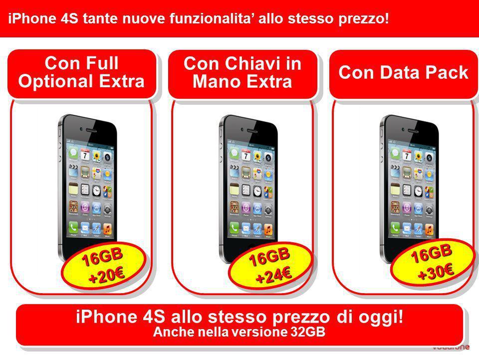iPhone 4S tante nuove funzionalita allo stesso prezzo.