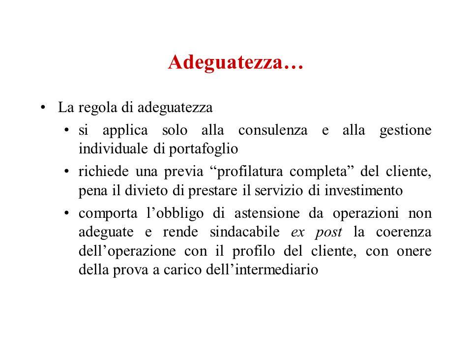 Risoluzione per inadempimento del singolo contratto.