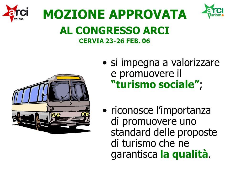 MOZIONE APPROVATA AL CONGRESSO ARCI CERVIA 23-26 FEB.