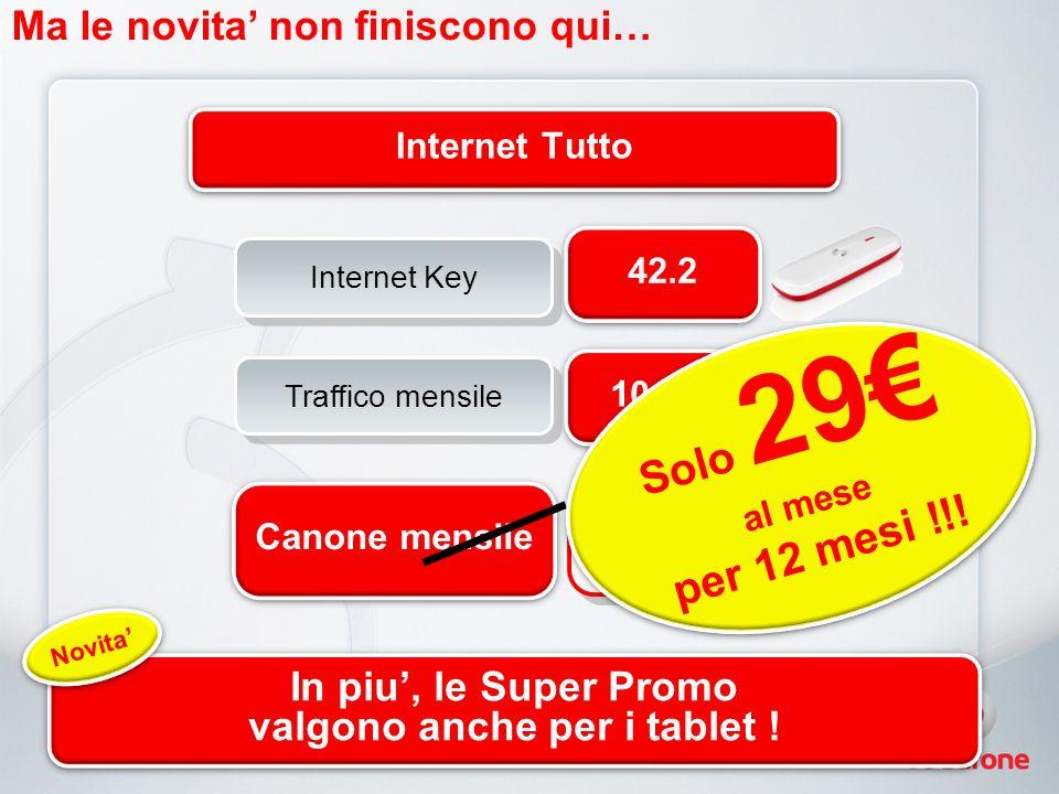 Una nuova promozione MNP… 49 6 mesi 39 6 mesi 25 6 mesi Da oggi anche Parla Facile Extra in Promo!!.