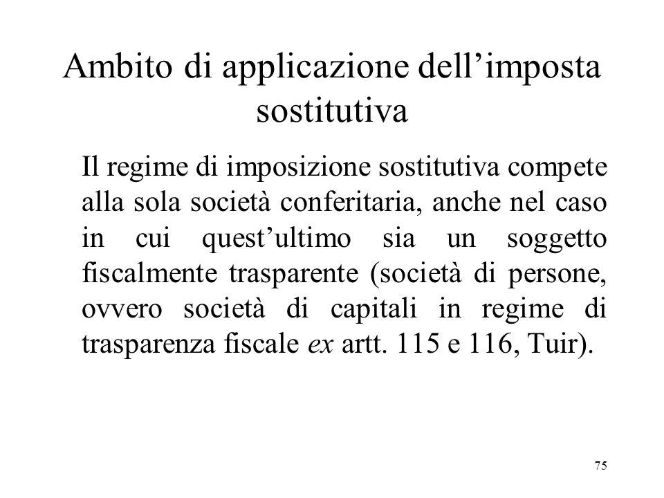 74 Fonti normative e prassi amministrativa - Art. 176, comma 2 ter Tuir - Decreto del Ministero delleconomia e delle Finanze del 25 luglio 2008 emanat