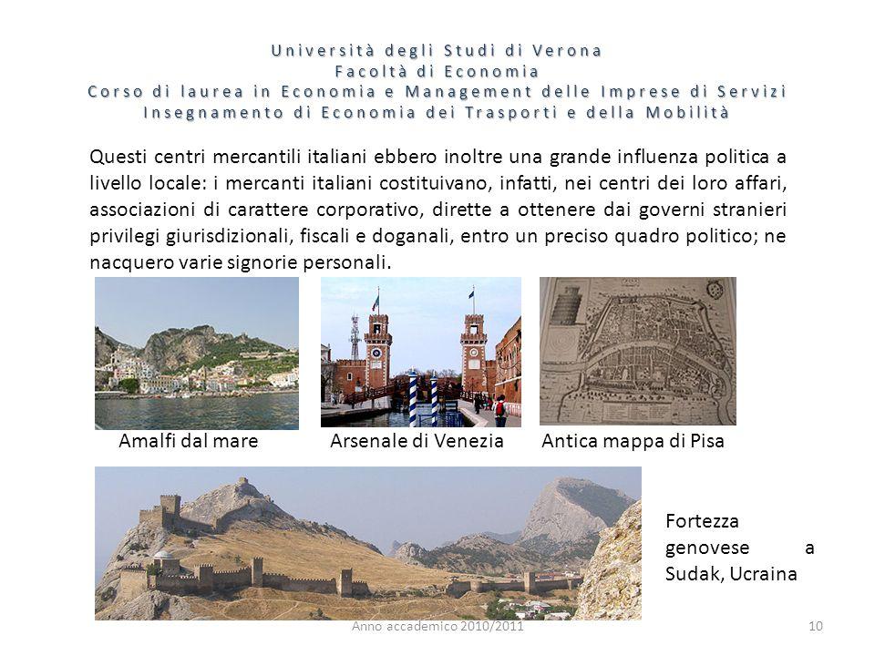 10 Università degli Studi di Verona Facoltà di Economia Corso di laurea in Economia e Management delle Imprese di Servizi Insegnamento di Economia dei