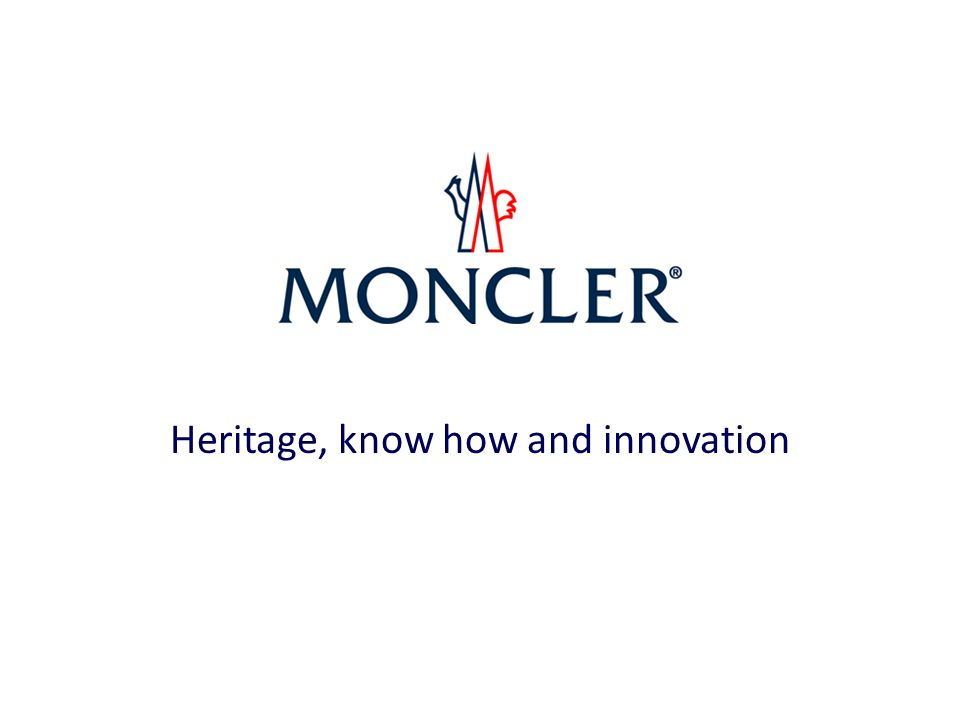 Heritage, know how and innovation