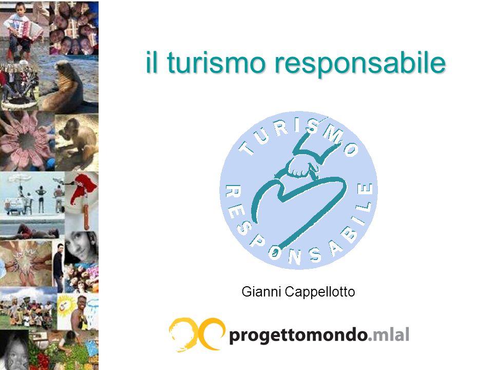 il turismo responsabile Gianni Cappellotto