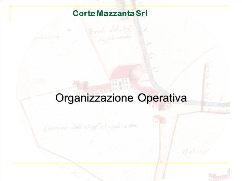 Corte Mazzanta Srl Organizzazione Operativa