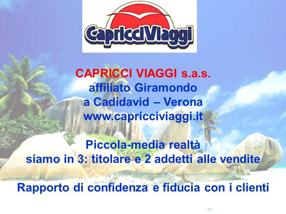 CAPRICCI VIAGGI s.a.s.