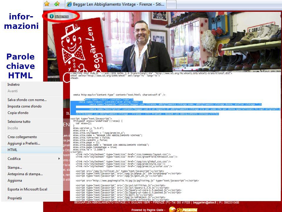 03/02/2014 24 Link Ottimizzazione di un sito web perché i MdR lo presentino nel miglior modo (pertinenza) nei risultati delle ricerche e con un posizionamento elevato.