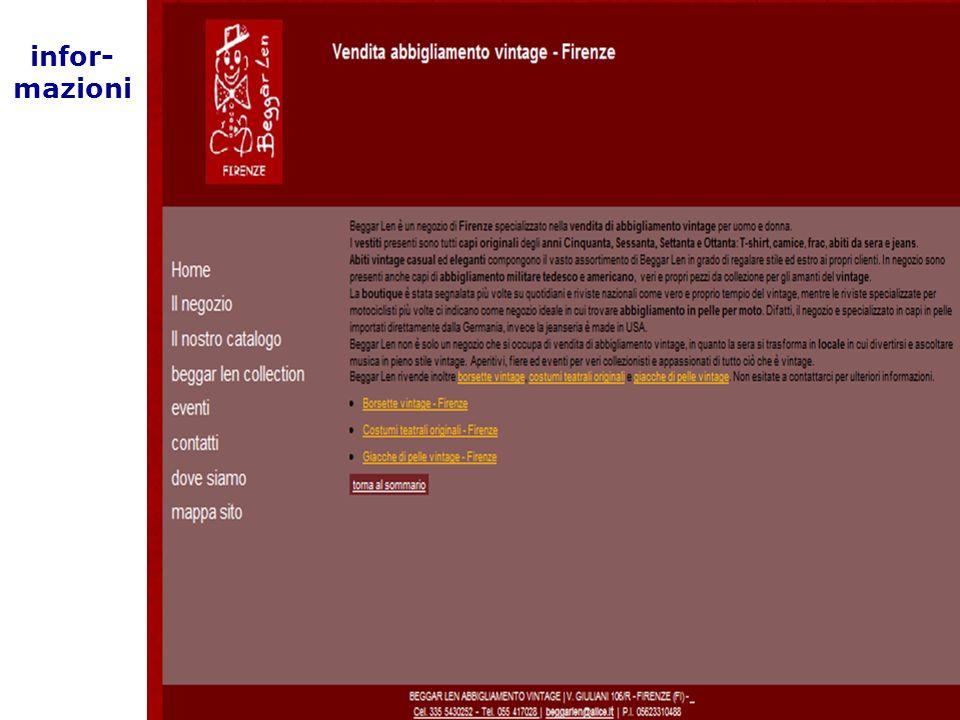 03/02/2014 25 Parole chiave HTML infor- mazioni