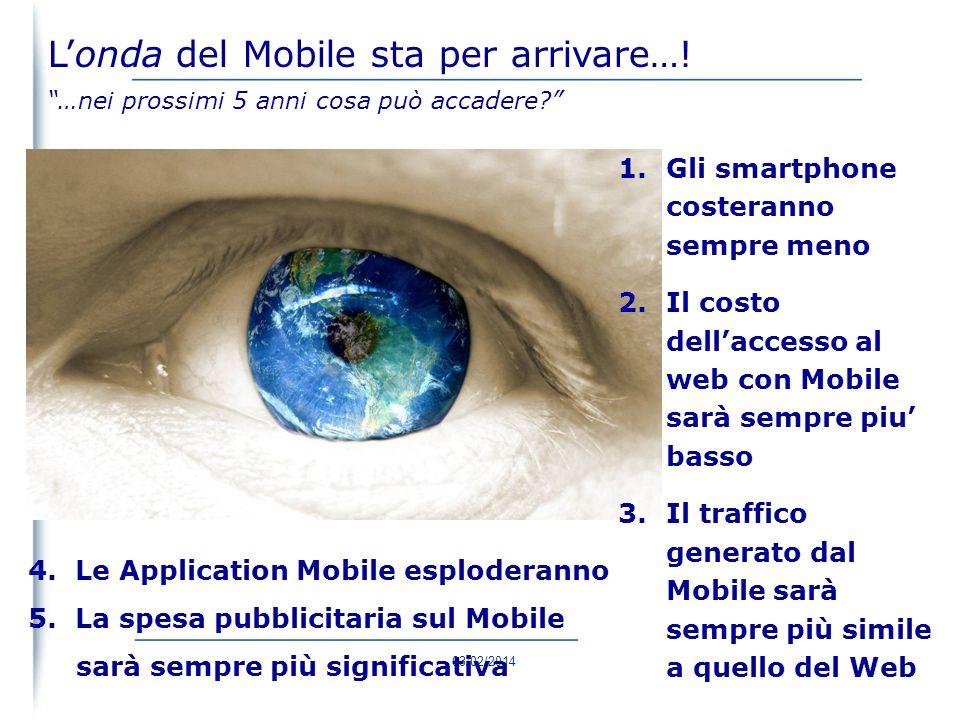 03/02/2014 50 Siamo pronti per il SURF ? Gli utenti mobili sono 3 volte quelli che possiedono un PC Londa del Mobile sta per arrivare…!