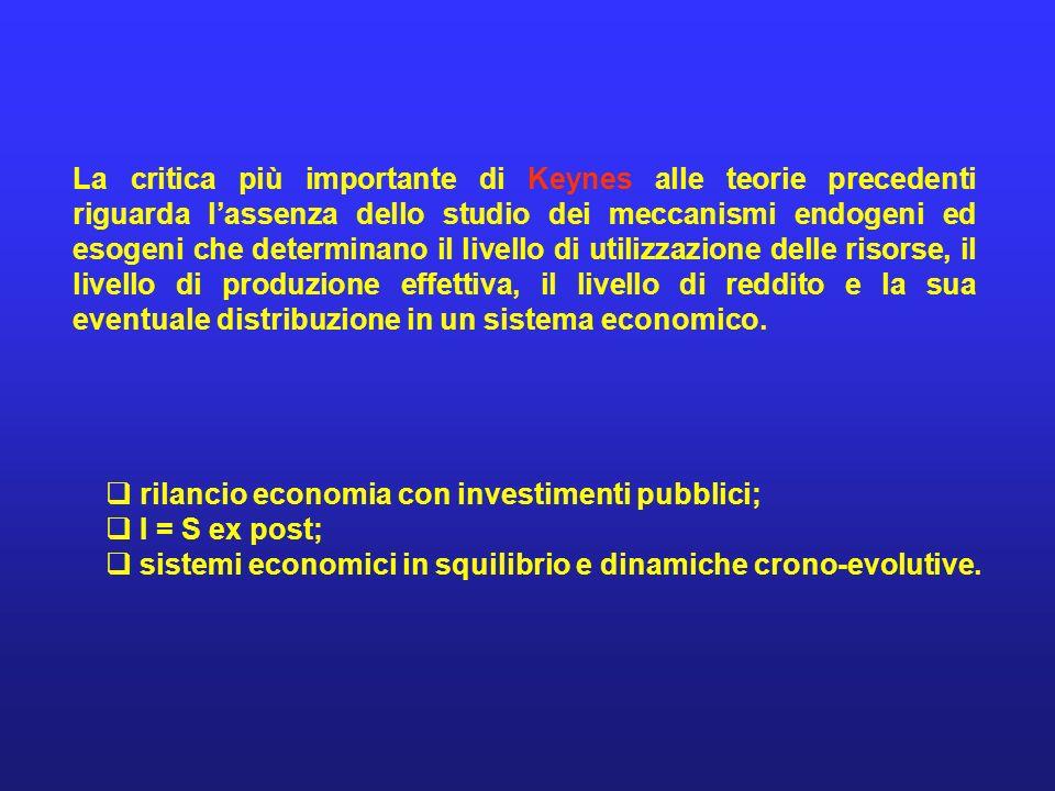 Diversi elementi di natura economico-sociale differenziano gli anni dellanteguerra e della II a Guerra Mondiale da quelli del dopoguerra: lintervento dello Stato in economia; la relativa perdita dinteresse, sia dal punto di vista analitico che empirico, dello studio del ciclo economico di breve, medio e lungo periodo (livellamento dellattività economica rilevante per il trentennio 1945-1975); il problema della disoccupazione venne considerato solo marginalmente per qualche decennio, dopo linteresse di molti economisti, fra cui anche Keynes, per tutti gli anni Trenta; il fenomeno inflazionistico, acuitosi dagli anni Settanta fino agli anni Novanta; professionalizzazione della scienza o disciplina economica.
