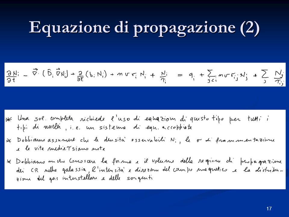 17 Equazione di propagazione (2)