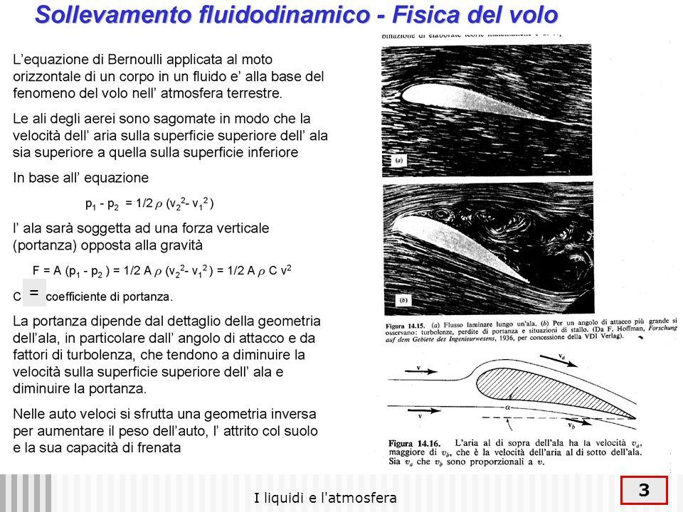 I liquidi e l atmosfera 34 Le onde spostano energia senza spostare massa: tutti gli elementi del sistema tornano alla loro posizione iniziale dopo il passaggio della perturbazione I meccanismi con cui cio avviene dipendono dalla natura dei sistemi in cui avviene la propagazione Onde in una bacinella