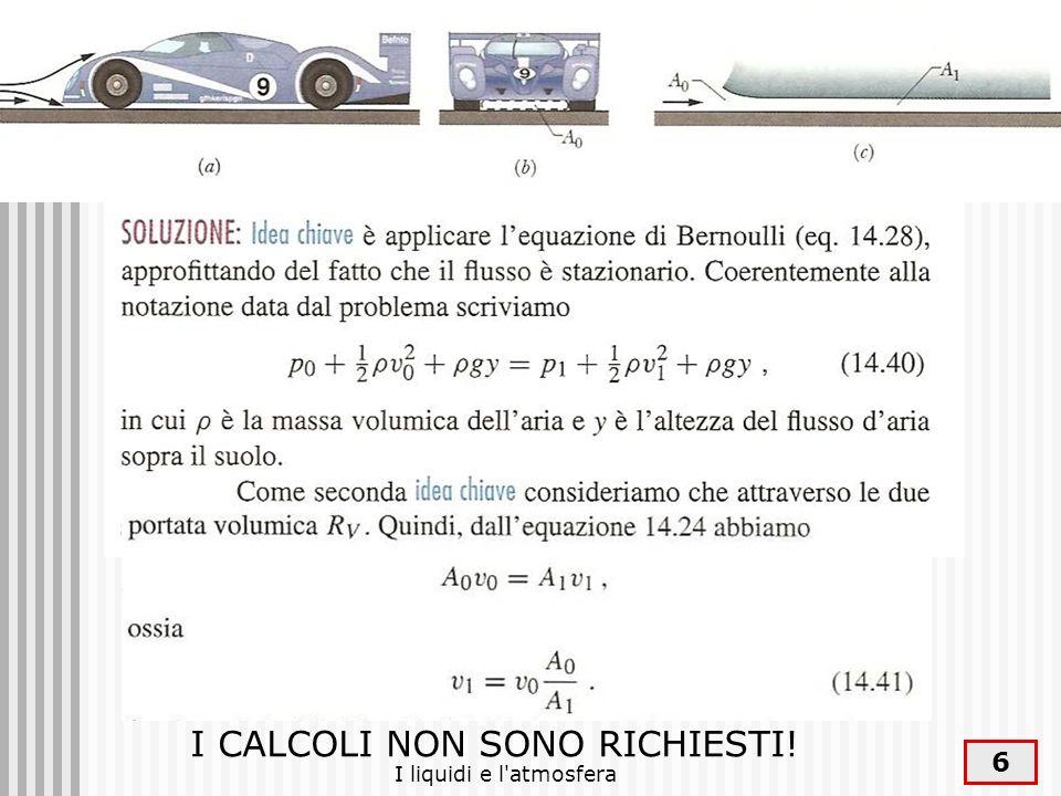 I liquidi e l atmosfera 27 Fonti Halliday, Resnick, Fondamenti di Fisica, Masson, 1996 Sette, Lezioni di fisica www.fisica.uniud.it\GEI\GEIweb\gein ew\fluidi\s_fluidi.htm www.fisica.uniud.it\GEI\GEIweb\gein ew\fluidi\s_fluidi.htm www.iapht.unito.it\corso\pressione.h tml www.iapht.unito.it\corso\pressione.h tml www.iapht.unito.it/giocattoli/fiore/flui di.html www.iapht.unito.it/giocattoli/fiore/flui di.html