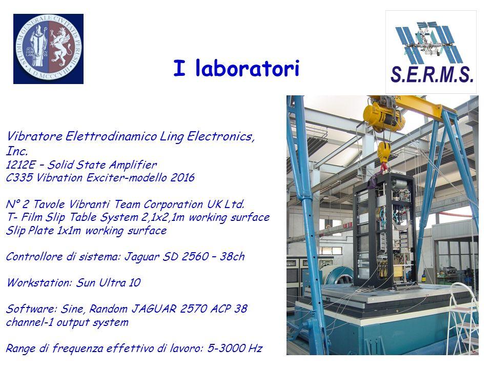 I laboratori Vibratore Elettrodinamico Ling Electronics, Inc. 1212E – Solid State Amplifier C335 Vibration Exciter-modello 2016 N° 2 Tavole Vibranti T