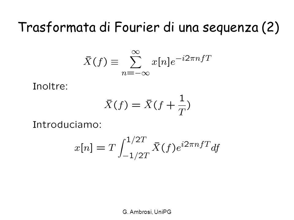 G. Ambrosi, UniPG per m=n
