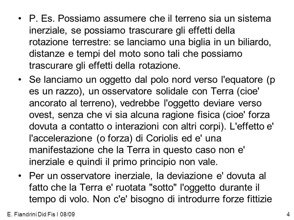 E. Fiandrini Did Fis I 08/094 P. Es.