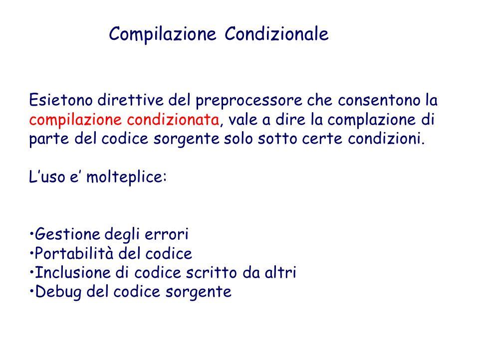 Regole predefinite e semplificazioni Nellesempio precedente main.o e sum.o dipendono entrambi da sum.h.
