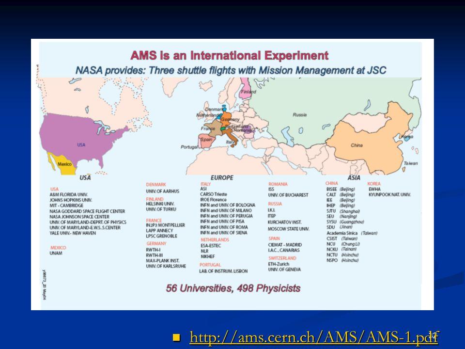 32 http://ams.cern.ch/AMS/AMS-1.pdf http://ams.cern.ch/AMS/AMS-1.pdf http://ams.cern.ch/AMS/AMS-1.pdf