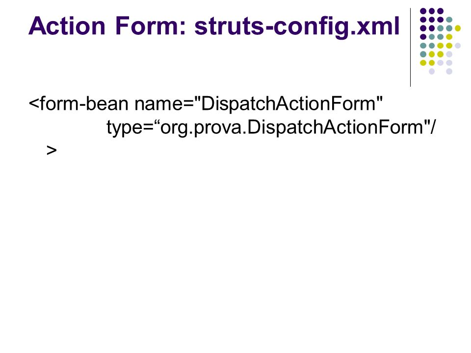 View in Struts Struts estende Java Server Pages (JSP) aggiungendo ulteriori tag a quelli già presenti Prima di vedere alcuni esempi però è necessario richiamare alcuni concetti di base riguardanti le pagine JSP