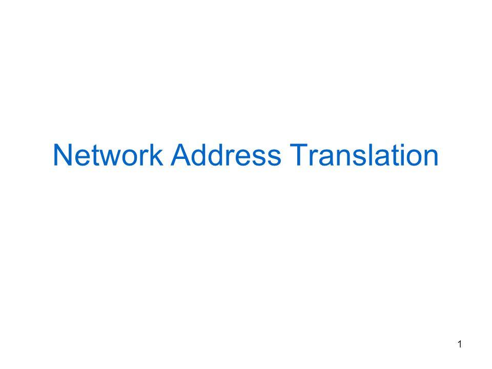 12 NAT ISP 1 OG 140.16/16 IL 10.0.0.0/8 Inside NAT Outside ISP 2 OG 193.17/16 IG 193.17.15/24 IG 140.16.20/24 OL 192.168.1/24 OL 192.168.2/24 Pacchetto proveniente dallesterno Look up dst address = IG Translation inside Sostituisce DST address con IL Look up src address = OG Translation outside scarta fail Alloca indirizzi OL Crea entry OL - OG Sostituisce SRC address con OL Pacchetto proveniente dallinterno Look up dst address = OL Translation outside Sostituisce DST address con OG Look up src address = IL Translation inside scarta fail Alloca indirizzi IG Crea entry IL - IG Sostituisce SRC address con IG
