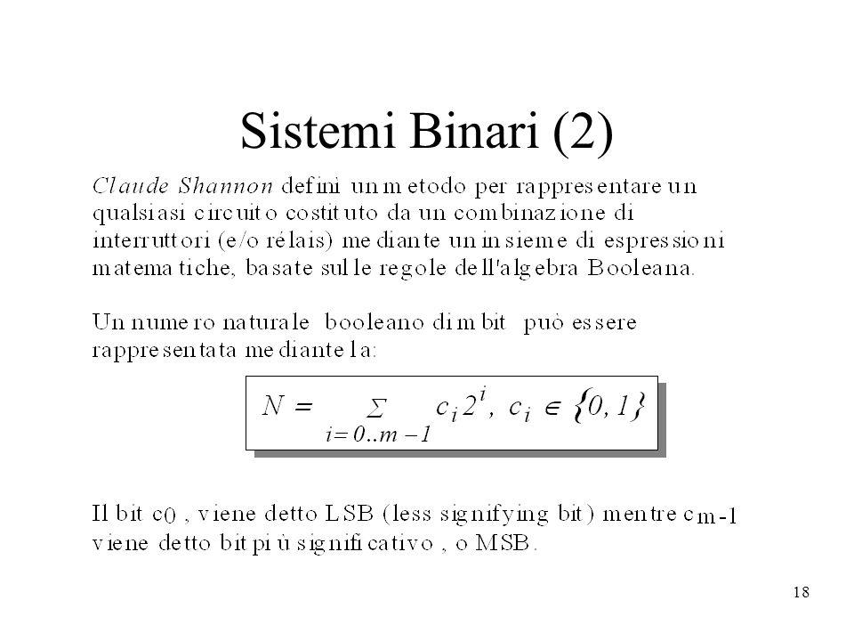 18 Sistemi Binari (2)