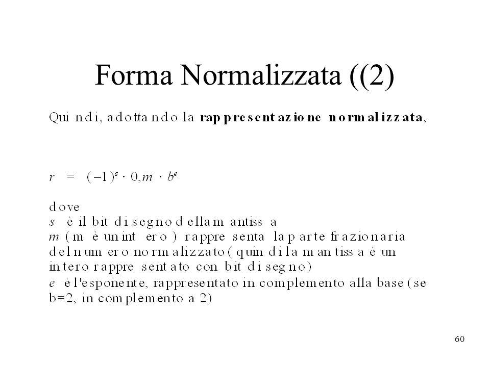 60 Forma Normalizzata ((2)