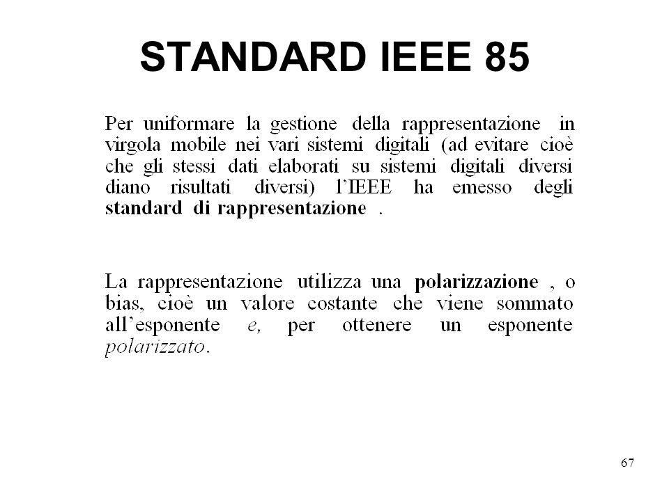 67 STANDARD IEEE 85