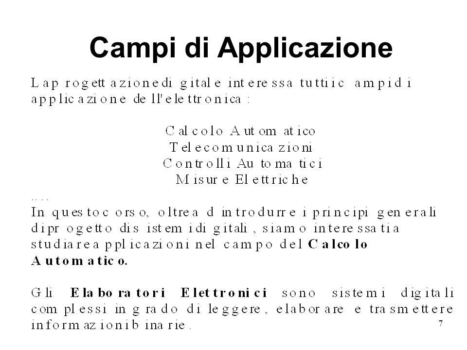 7 Campi di Applicazione