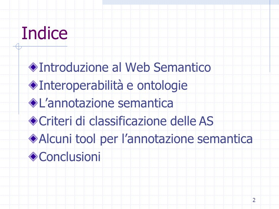 32 …esempio … <rdf:Description rdf:about= file:/…/MnM2/ KbCreated/Misha1.rdf#LEKS > <rdf:type rdf:resource= file:/…/MnM2/Ontologies/ s_community.rdfs#Organisation /> Lab for Ent.