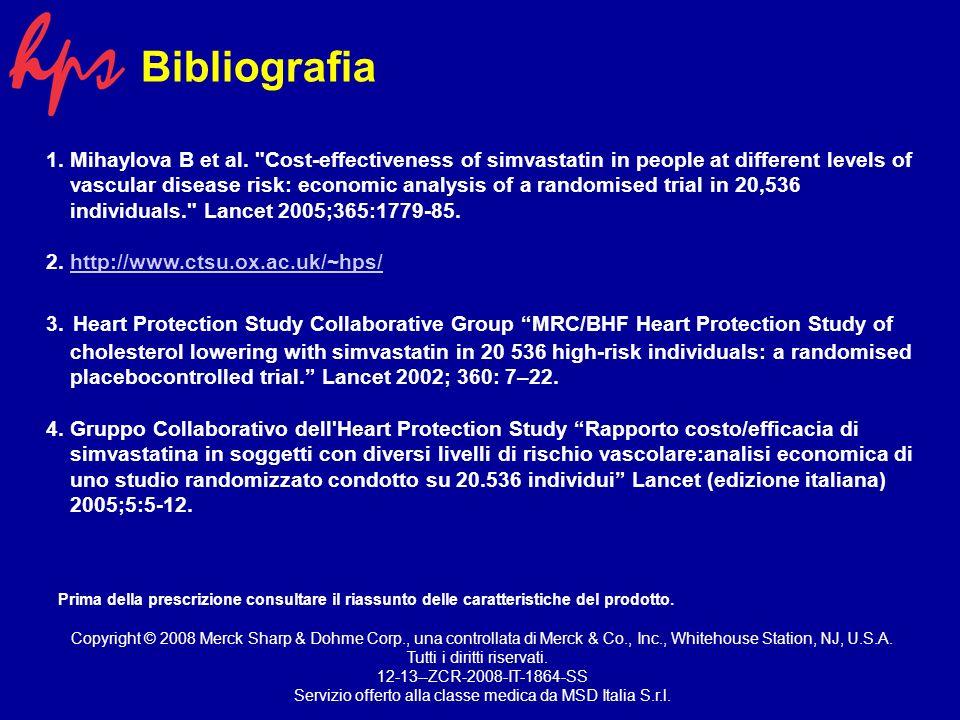 Bibliografia 1. Mihaylova B et al.