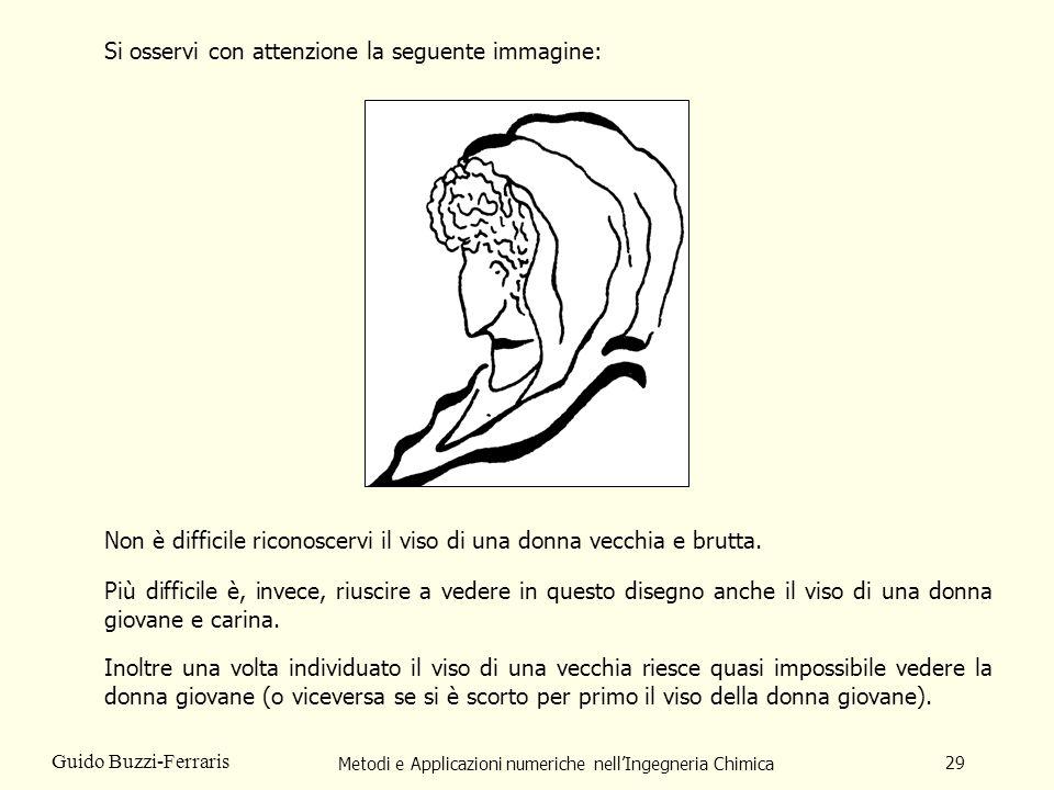 Metodi e Applicazioni numeriche nellIngegneria Chimica 29 Guido Buzzi-Ferraris Si osservi con attenzione la seguente immagine: Non è difficile riconos